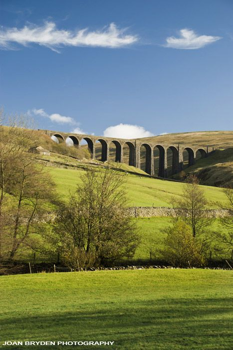 Artengill Viaduct, Dentdale in the Yorkshire Dales National Park, Cumbria, England