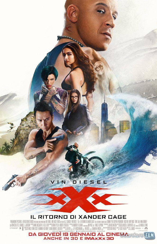 xXx: Il ritorno di Xander Cage Streaming/Download (2017) HD/3D/ITA Gratis   Guardarefilm: https://www.guardarefilm.uno/streaming-film/8694-xxx-il-ritorno-di-xander-cage-2017.html