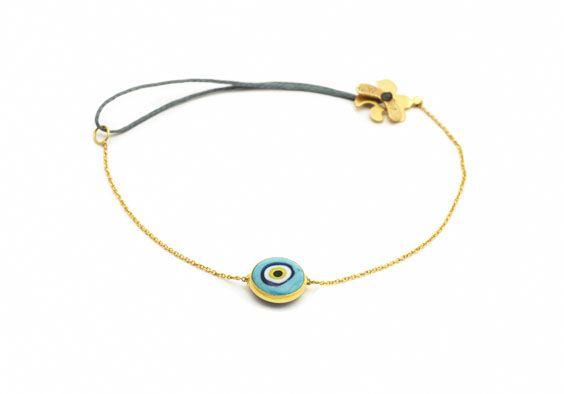 Evil eye bracelet www.apriati.com