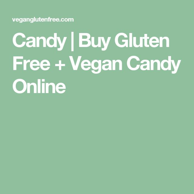 Candy | Buy Gluten Free + Vegan Candy Online