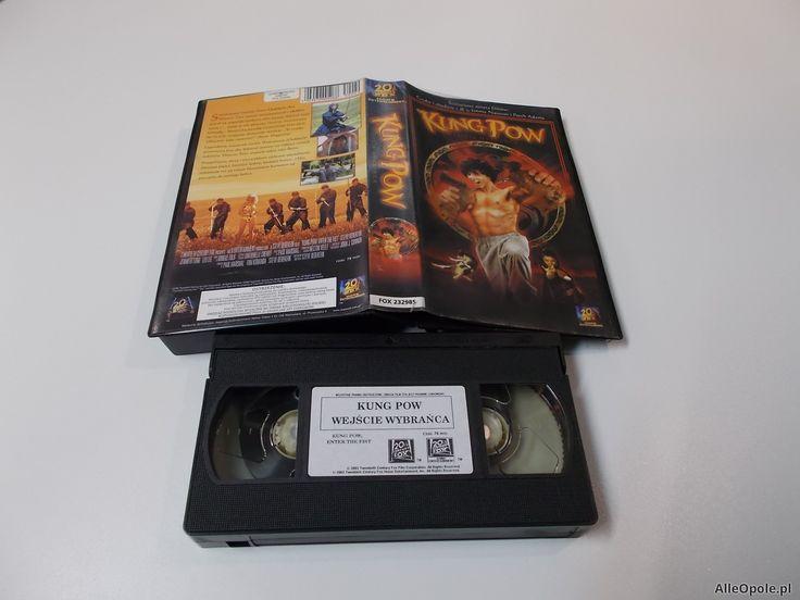 KUNG POW WEJŚCIE WYBRAŃCA - VHS Kaseta Video - Opole 1626 (Opole)  http://www.alleopole.pl/