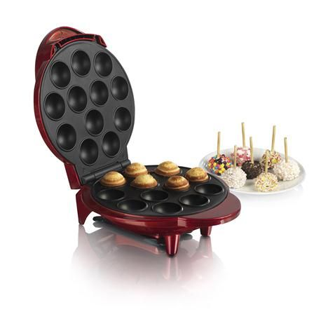 Swan Red Popcake Maker