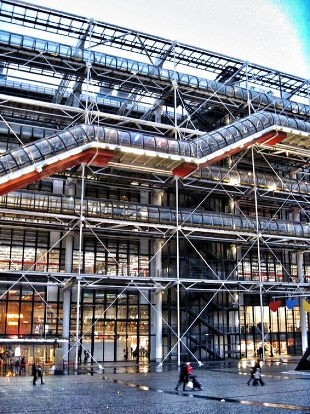 17 best images about pompidou on pinterest building - Centre george pompidou architecture ...