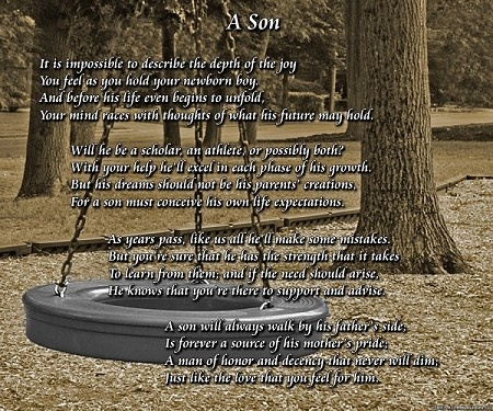 poems about a father and son relationship