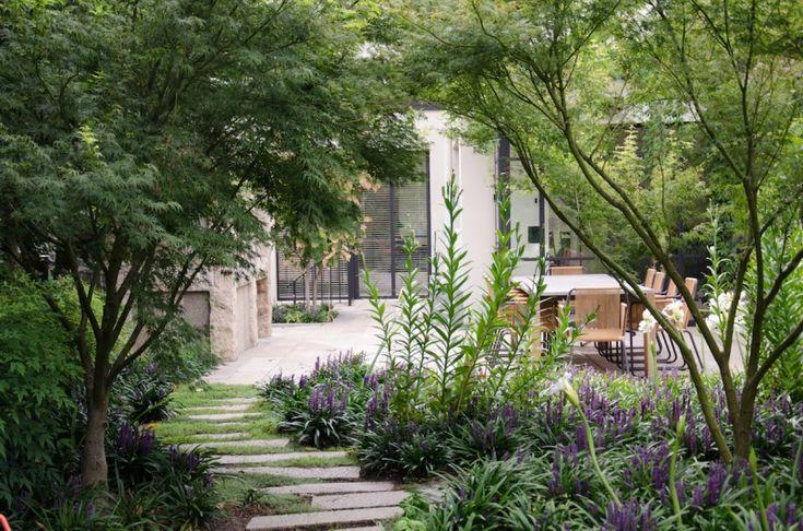 toorak residential garden, melbourne