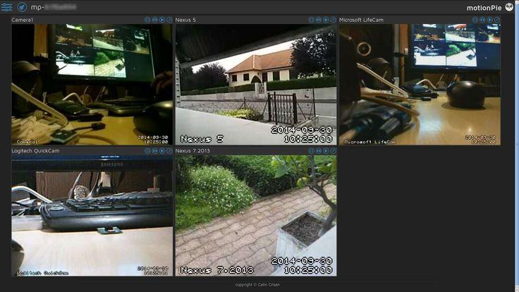 motionPie, surveillance vidéo avec Raspberry Pi | Épinglé!