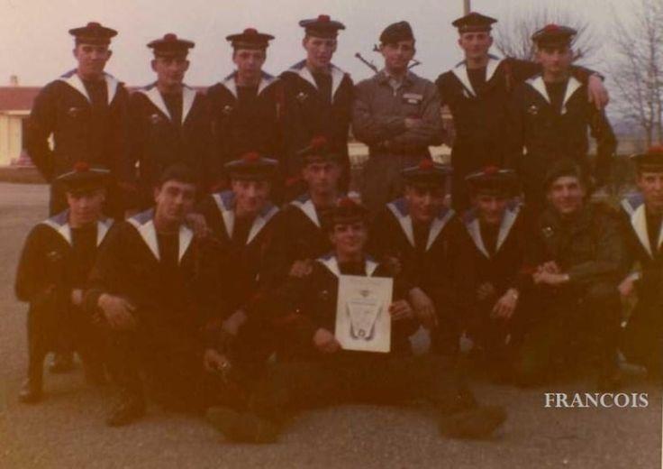 Photo de classe Sortie stage para de 1970, Commando Marine