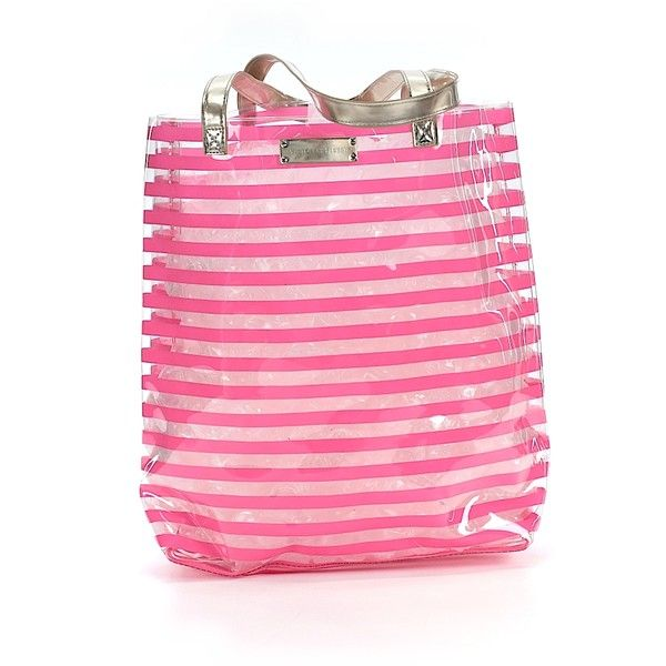Pre-owned Victoria's Secret Tote: Pink Women's Bags ($32) ❤ liked on Polyvore featuring bags, handbags, tote bags, pink, victoria secret tote, pink tote handbags, victoria's secret, handbags totes and handbags purses