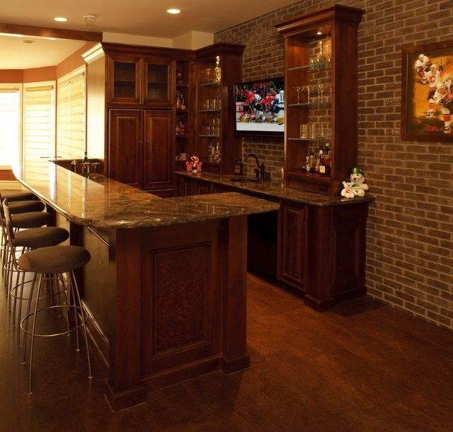 Home Design Basement Ideas: Basement Bar. Basement Ideas