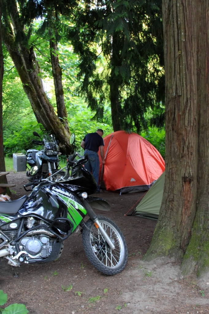 The Best Camping in the bottom of the Coquihalla Canyon along the Trans Canada Trail in a very scenic mountainous area with wild flowers, beautiful trees, open spacious sites from full hookups to tents electric sites with picnic tables, fire pits in all sites. www.HopeBC.ca