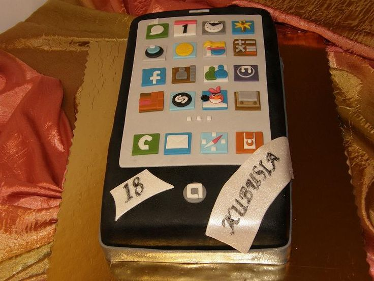 Tort na 18 urodziny