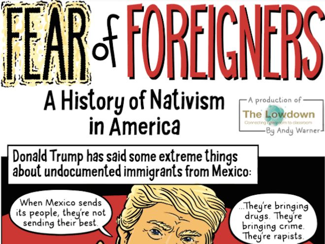 NPR Station Publishes Anti-Trump Comic Book for Teachers, Kids