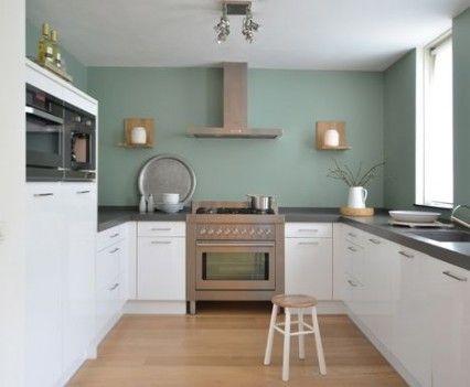 25 beste idee n over keukenmuur kleuren op pinterest keuken verfkleuren muurkleuren en - Keukenmuur deco ...