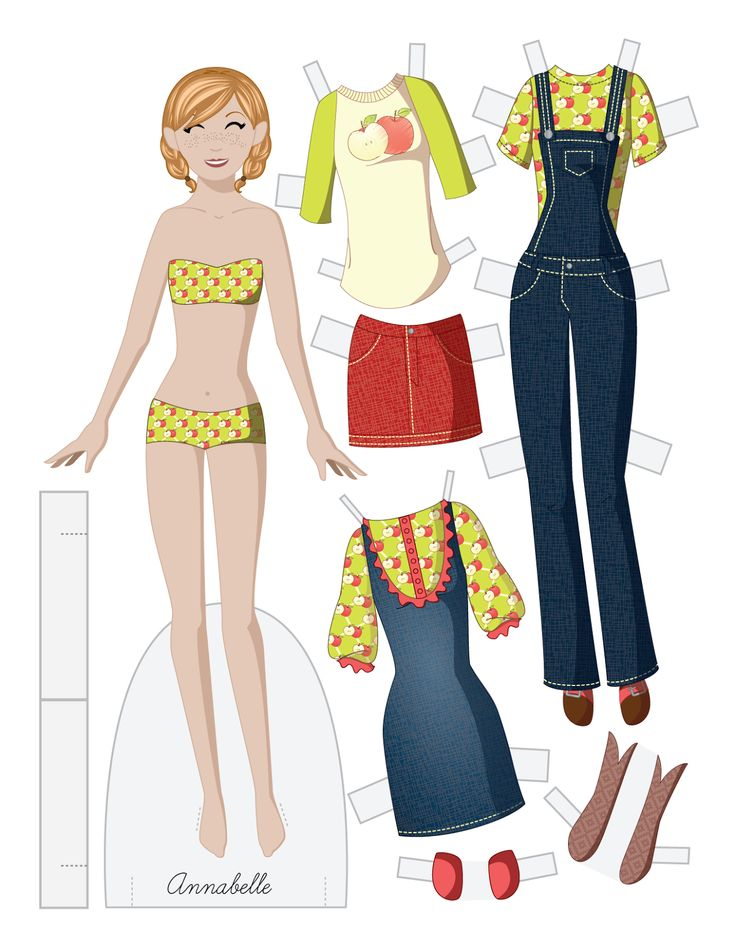 how to make paper dolls and clothes