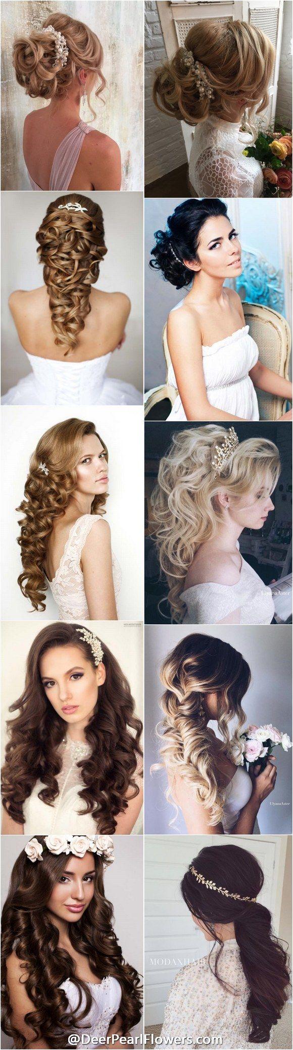 1000+ Wedding Hairstyles for Long Hair | http://www.deerpearlflowers.com/wedding-hairstyles/
