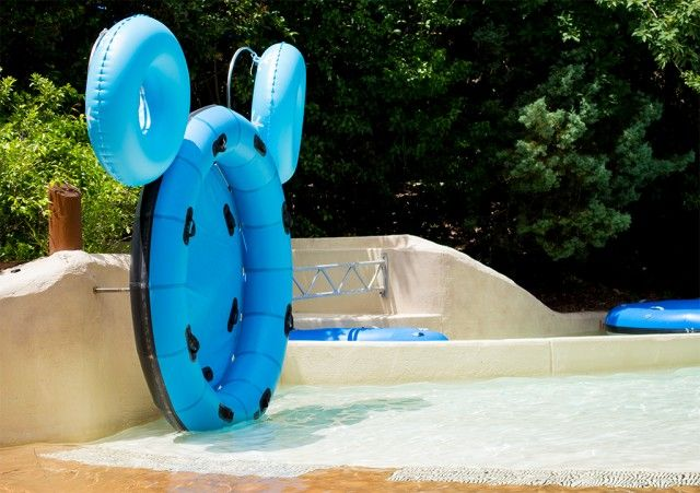 Hidden Mickey at Blizzard Beach! (Lots of info about Blizzard Beach in this blog post.)
