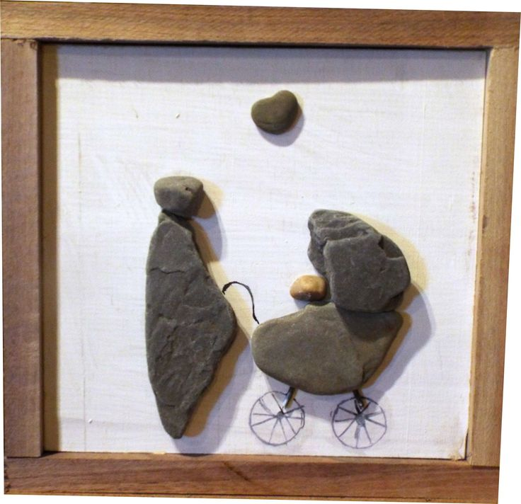 375 best pebble art in frames images on pinterest pebble art rock pebble art with solid walnut frame all the rocks solutioingenieria Image collections