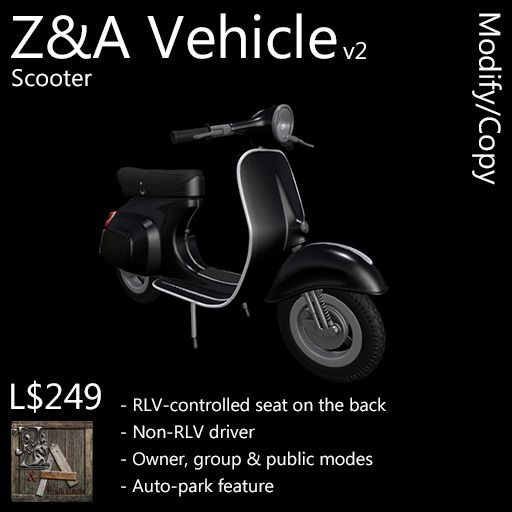 Z&A Vehicle (Scooter)