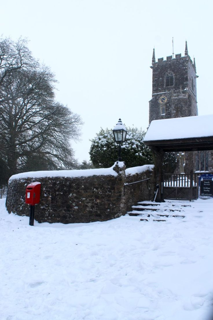 Letters from Britain: The Beast from the East - Snow in the UK - A View from Devon - Anglotopia.net