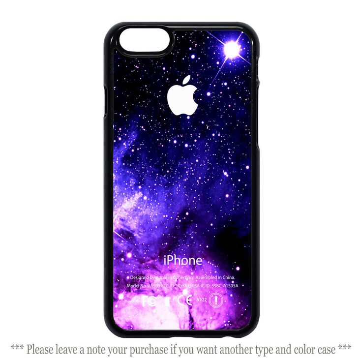 Purple Galaxy Nebula Cases Cover iPhone 4 4s 5 5s 5c 6 6 plus Case #UnbrandedGeneric
