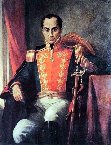 Simón José Antonio de la Santísima Trinidad Bolívar y Palacios Ponte y Blanco, commonly known as Simón Bolívar, was a military and political leader of Latin America. (Initiated Cádiz, Spain) Founding brother of Lodge Order and Liberty No. 2, Peru, 1824