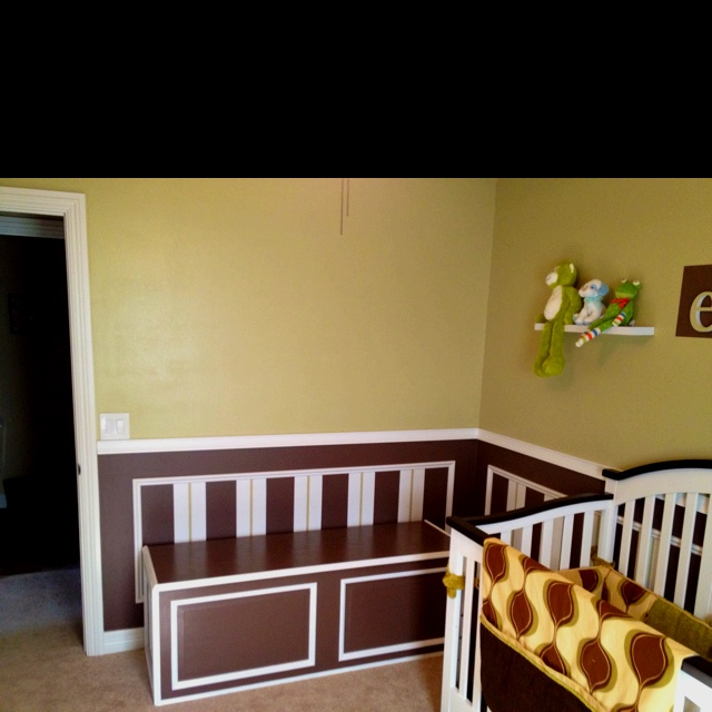 Our baby boy's room