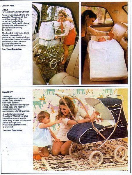 1968 Steelcraft vintage prams ***