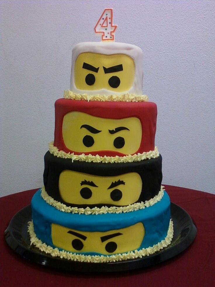 Cake Decoration Ninjago : Ninjago cake Ninjago bday Pinterest Cakes, Lego and ...