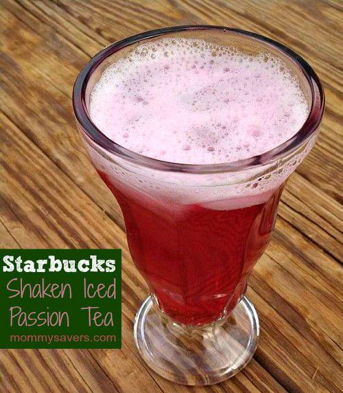 Starbucks Shaken Iced Passion Tea Copycat Recipe
