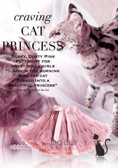 """Craving cat princess"" gorgeous pettiskirt"