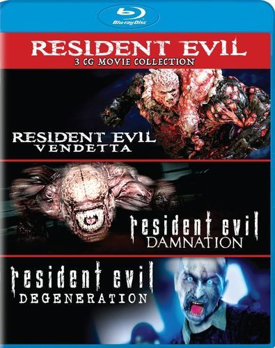 Resident Evil: Damnation/Resident Evil: Degeneration/Resident Evil: Vendetta [Blu-ray]