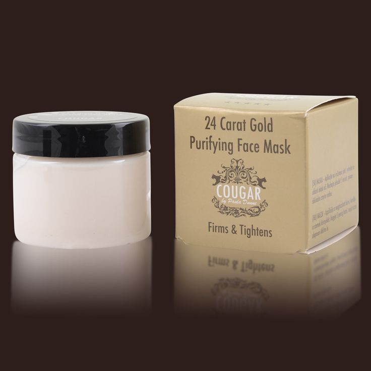 24k Gold Mask By Cougar By Paula Dunne - £36 with fast free delivery- In stock now! #antiagingskincare
