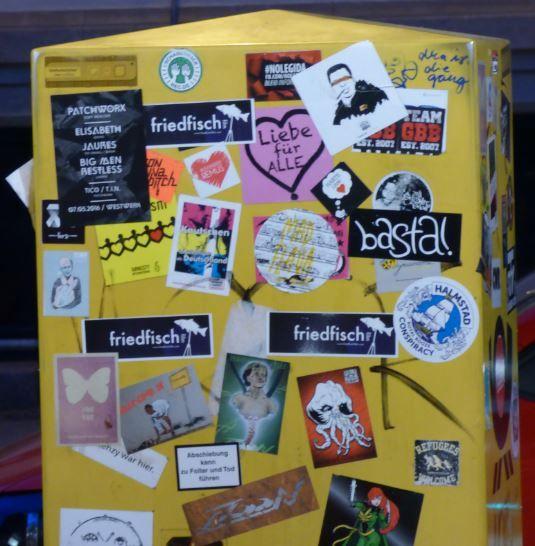Sticker, Leipzig