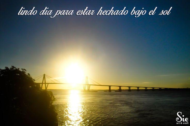 Sábado de sol ♥