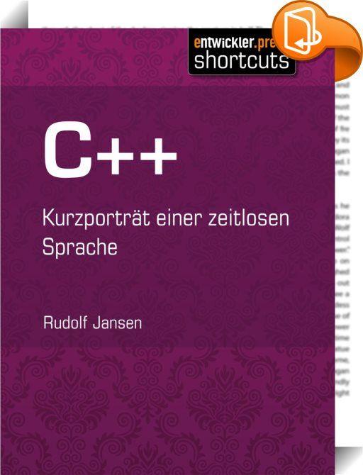 C++    ::  Programmierung in C++!? Eine Anforderung, die man zwar häufig in Projekten und Stellenausschreibungen findet, die aber bei vielen Entwicklern leider immer noch den Eindruck von etwas Altmodischem erweckt. Weit gefehlt! Betrachtet man die Einsatzgebiete von C++, erkennt man schnell die Relevanz dieser Sprache. Und auch die fachlichen Herausforderungen, denen man sich als Entwickler von C++ stellen muss bzw. darf, können aus dem Umgang mit der Sprache eine hochinteressante Ang...