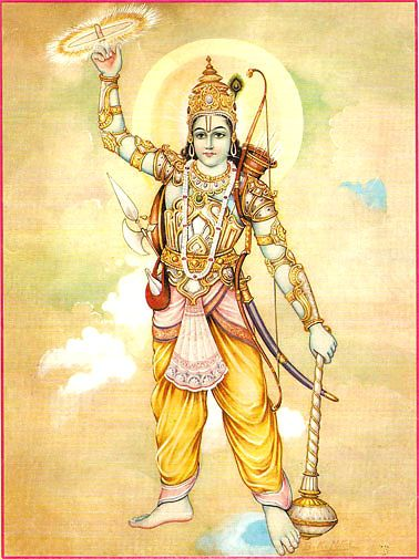 Sudarśana Chakra - the discus of the lord Vishnu - meaning and mantras