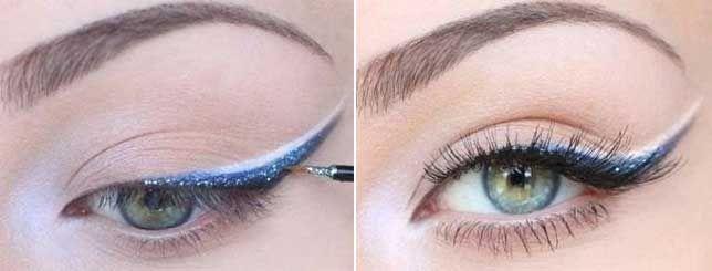 Farebná očná linka - naučíme ťa to • Akadémia Krásy
