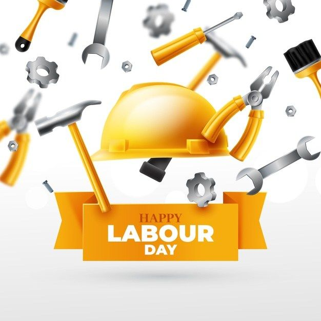 Freepik Realistic Labour Day Concept Free Vector Ai Eps Labour Day Vector Free Freepik