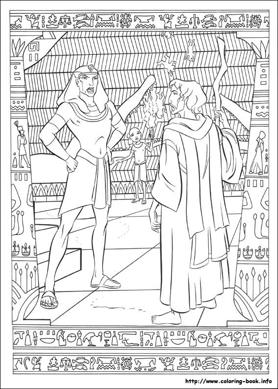 The Prince Of Egypt Coloring Picture Coloring Pages Coloring Books