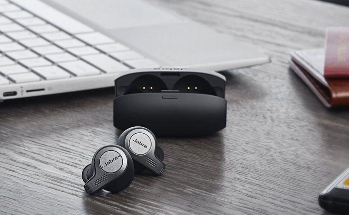 Jabra Evolve 65t Uc Certified Professional True Wireless Earbuds For Office Wireless Earbuds Earbuds Wireless