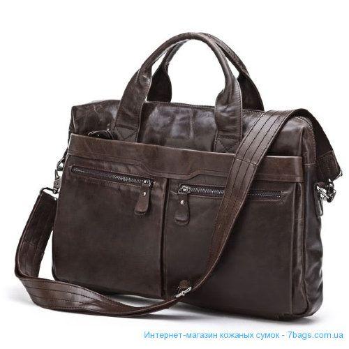 Кожаная ежедневная сумка коричневая 100% натуральная кожа - отличная винтажная кожа (под старину) Размеры: 39.5cm L x 9cm D x 29cm H Цвет коричневый Фурнитура оттенка бронзы Наружная застежка - молния Вес: 1.05 кг