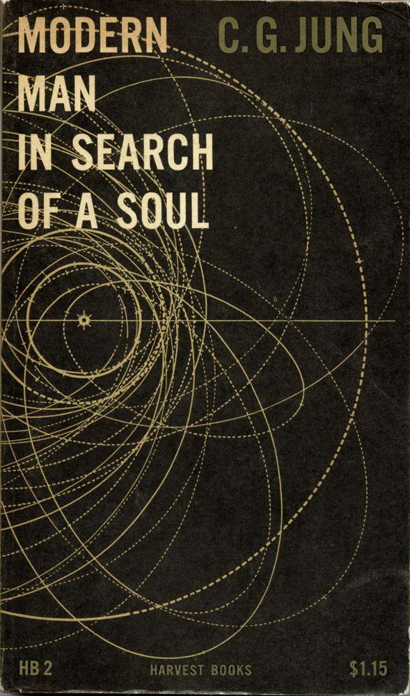 Modern Man in Search of a Soul, book cover, circa 1955 / Design: Erik Nitsche
