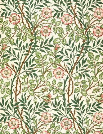 Sweetbriar by William Morris. Oh William, good thing you're dead--because I love you madly and I don't want my husband to be jealous.