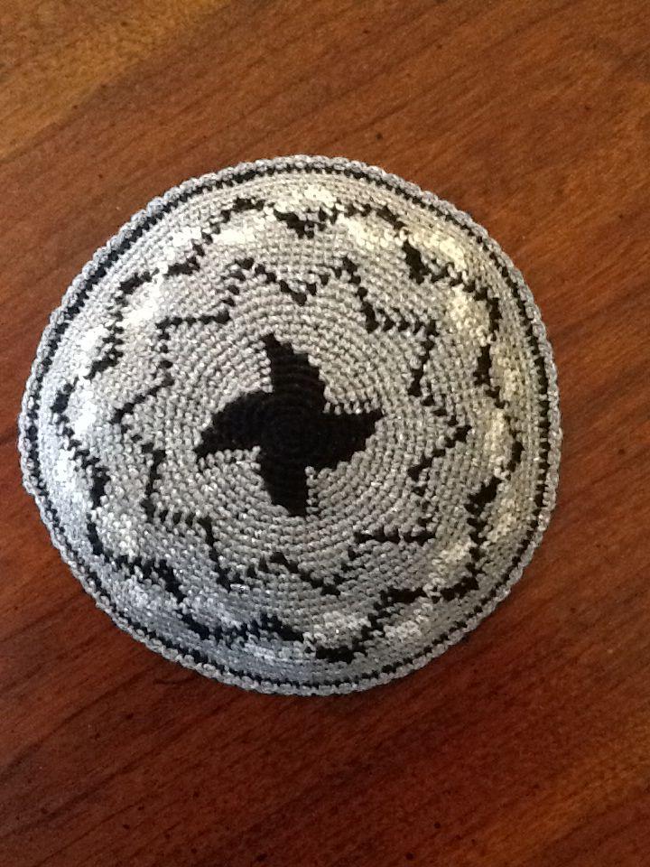26 best Crochet yarmulkas images on Pinterest | Häkelideen, Stricken ...