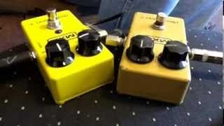 mxr distortion plus - YouTube
