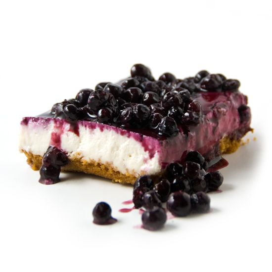 Wild Blueberry Cheesecake. We're often asked how we make our Dairy-Free Cheesecake taste just like its cheesy counterpart. If we told you, we'd have to….well, you know.