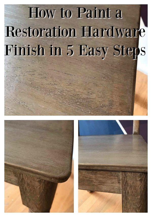 The Tutorialist Restoration Hardware Finish Chalk Paint By Ann Restoration Hardware Furniture Restoration Hardware Dining Table Restoration Hardware Table