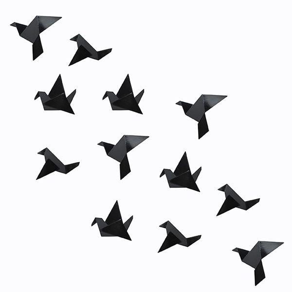 Origami Birds by Mostaza Diseño Amarillo