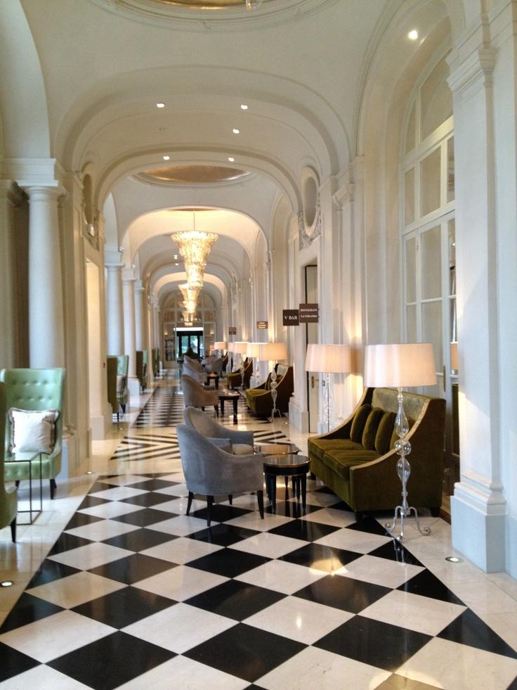 Hotel trianon palace at versailles interiors pinterest hotel lobby versailles und palace - Hotel trianon versailles ...