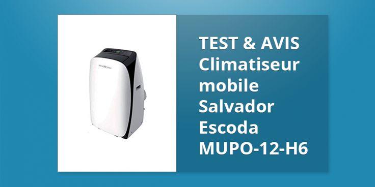 Climatiseur mobile Salvador Escoda MUPO-12-H6